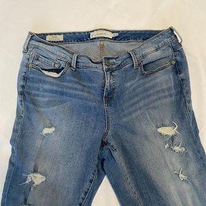 Torrid Skinny Distress jeans 18